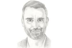 Σκίτσο του Γιώργου Καπουτζίδη-πορτρέτο