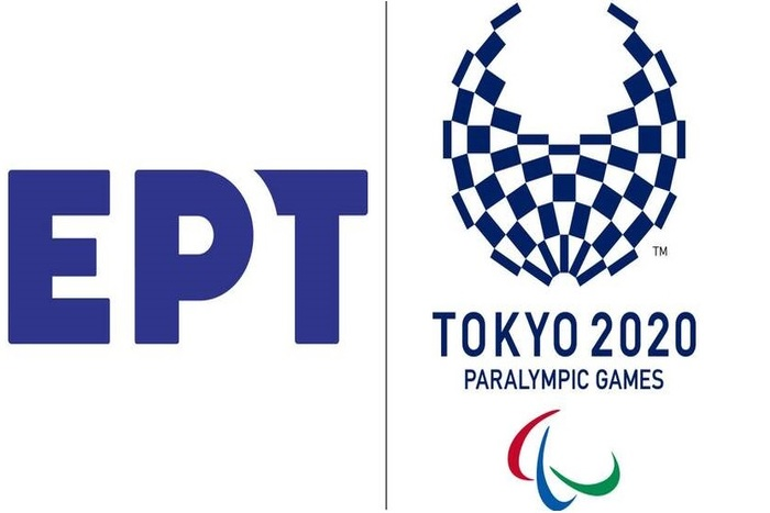 λόγκο της ΕΡΤ και των Παραολυμπιακών αγώνων Τόκιο 2020