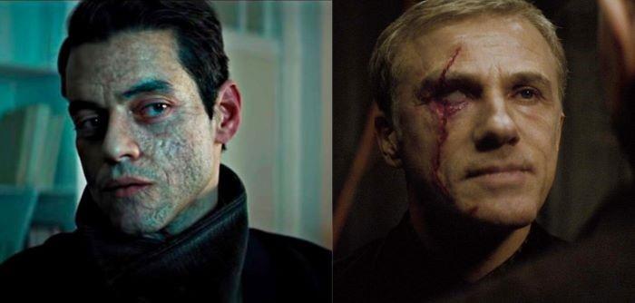 Οι 2 κακοί της νέας ταινίας James Bond, ενσαρκώνονται από Rami Malek & Christoph Waltz